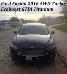 Ford Fusion 2016 Awd Turbo Ecoboost Gtdi Titanium - 2016