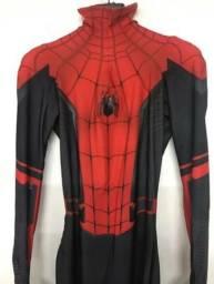 Cosplay, fantasia, uniforme Homem Aranha. aceito cartão