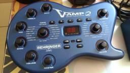 Pedaleira Behringer VAmp 2 + Bag + Fonte 110v/220v + Footswitch