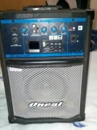 Caixa amplificada oneal 260rms
