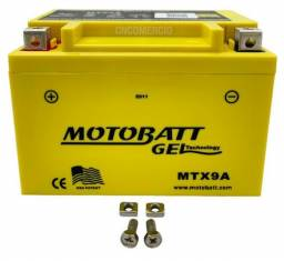 Bateria Gel Motobatt Mtx9a Ytx9-bs Cb500 Vt600 Cb600 Cbr900 Ninja 250 300 Xt600 Gsx750r