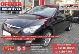 Preto Hyundai I30 2.0 mpfi gls 16v gasolina 4p automático 2012 R$ 21.629 66086km - 2012
