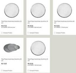 Forma tela em alumínio - para pizzaria 30 cmts