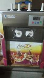 Máquina de sorvete expresso troco por moto