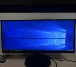 Monitor LG 25 polegadas ultrawide estudo troca