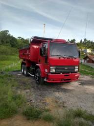 Vendo caminhão ford cargo caçamba basculante - 1999
