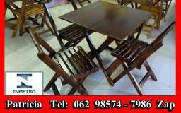 Jogos de mesas de madeira 62 985747986