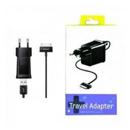 Carregador + Cabo Usb Tablet Samsung Galaxy Tab Travel Adapter 2 in 1