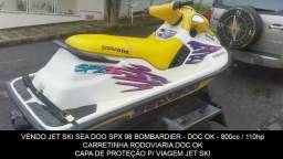Jet Ski Seadoo Spx 98 800cc 110hp C/ Carretinha - 1998