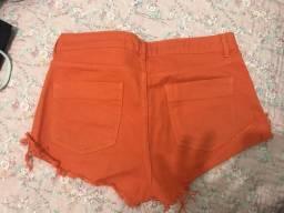 Short jeans usada apenas uma vez