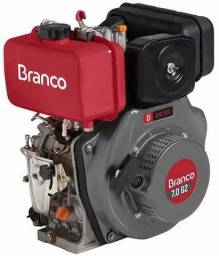 Motor Branco a gasolina B4T 7.0H P.M c/alerta de oleo