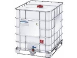 Reservatório ibc 1000 litros com grade de proteção - semi novo