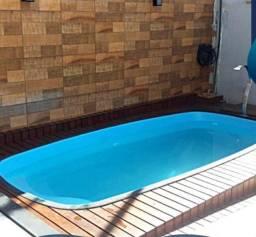 HM Promoção imperdivel ,piscina de fibra direto da fabrica 4,00m x2,00m altu1,00m