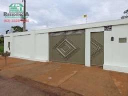 Chácara com 5 dormitórios para alugar, 1400 m² por R$ 2.200,00/mês - Chácaras Americanas -