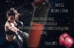 Saco de boxe GG + Luvas MKS