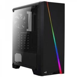 Gabinete Gamer Shard 13 Modos RGB Acrilíco - Aerocool - Loja Coimbra Computadores