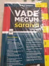 Livro Vade Mecum Saraiva 28ª Ed. 2º Semestre 2019, NOVO no plástico