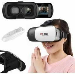 Óculos vr box de realidade virtual.