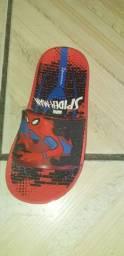 Sandália do Homem-Aranha