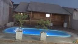 Casa com piscina 3 dormitório Arambaré