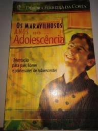 Livro os maravilhosos anos da adolescência 10$
