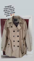 Trend Coat feminino bom estado
