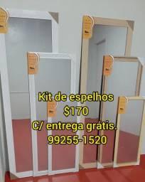 Espelhos kit leão com entrega grátis)170
