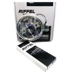 Kit Relação Transmissão Fan 125 09 Á 13 Riffel Top Com Retentor
