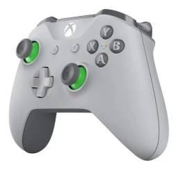 Controle xbox cinza verde de Serie Top