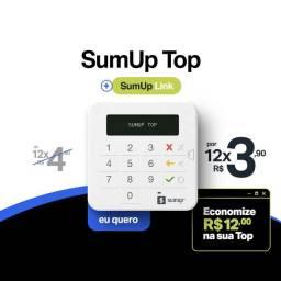 Sumup top- maquina  de cartao - incluso cartão  da sumup bank