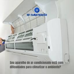 Manutenção Preventiva e Corretiva em aparelhos de Ar-condicionado