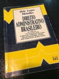 Livro: Direito Administrativo Brasileiro