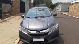 Título do anúncio: Honda City LX 1.5 2015 CVT Cinza Único Dono