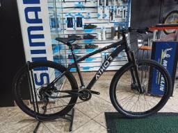 Bicicleta 29 Athor Storm 18v Shimano Altus Suspensão Absolute Prime