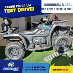 Título do anúncio: Quadriciclo 450L Preto