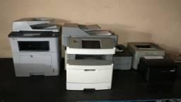 Título do anúncio: Impressora Lexmark X466 Multifuncional