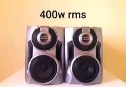 Par de caixas de som Sony 400w rms