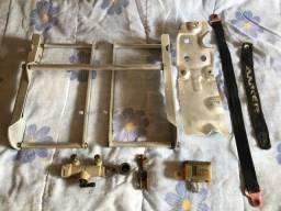 Protetor de radiador + protetor de motor Dr 400