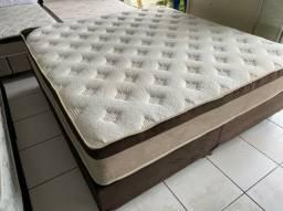 cama box QUEEN SIZE semi novas ORTOBOM camas
