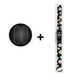 Título do anúncio: 2 Peleículas em gel + 1 pulseira de silicone para mi band 5