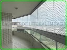 Apartamento para Locação em Praia Grande, Caiçara, 4 dormitórios, 2 suítes, 1 banheiro, 3