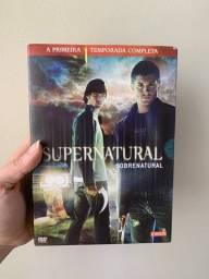Box Sobrenatural 1° Temporada Original 6 Discos