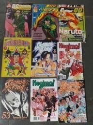 Título do anúncio: Revistas negima shaman King Naruto