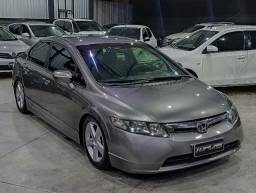 New Civic Lxs 1.8 Aut - couro - suspensao fixa - ac troca e financio