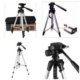Suporte tripé fotográfico 1 metro celular camera