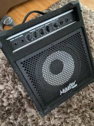 "Cubo Master Áudio Amplificador para contra baixo 75 Watts 1 Falante 10"""