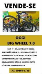 Título do anúncio: Bike oggi 7.0