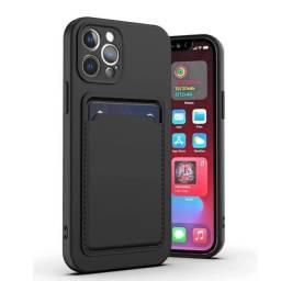 Título do anúncio: Capa Case IPhone 11 Porta Cartão Premium