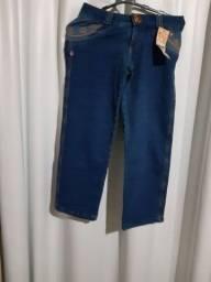 Bermuda Ciclista moletom jeans DLD