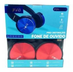 Fone de ouvido Inova Sem Fio 2246D vermelho
